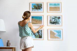 Jak zawiesić obraz bez wiercenia?